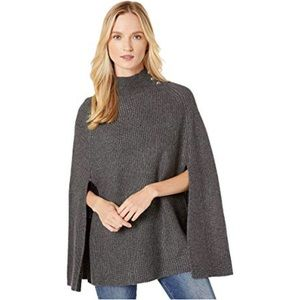 Ralph lauren knitted cape